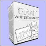 Whiteboard animation image kit