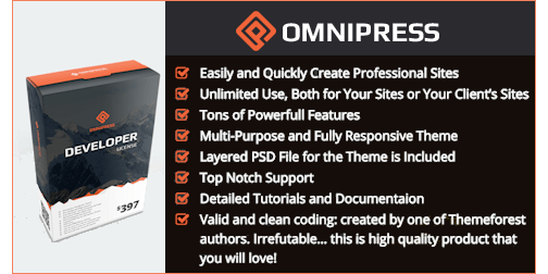 Omnipress WordPress Theme