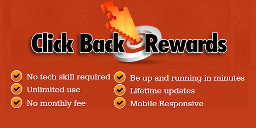 Generate Traffic with Click Back Rewards
