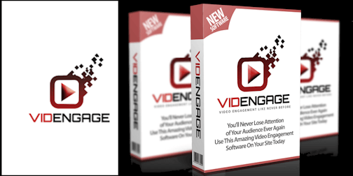 VidEngage enhances your video marketing pages with better audience engagement